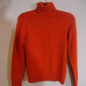 Banana Republic Orange Wool Blend Sweater (M)